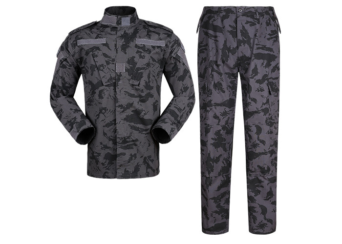 Night Camo Military Camouflage Combat Chinese Dress Army Uniform