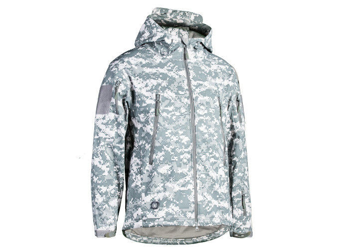 Military Style ACU Tactical Fleece Jacket Windbreaker jacket and army clothing or fleece jacket with cap
