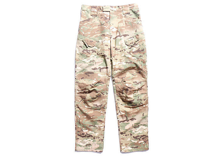 Multi Color Tactical Cargo Military Pants , All Weather Army Tactical Pants For Men
