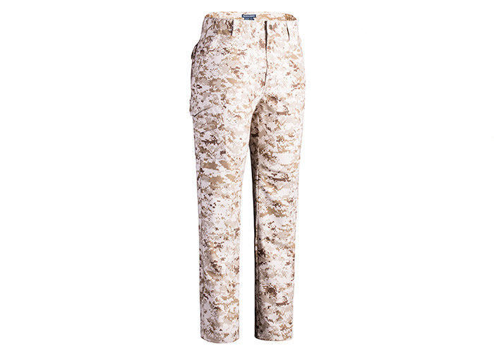Outdoor Working Tactical Combat Pants Relaxed Fit For Autumn / Winter OEM Service